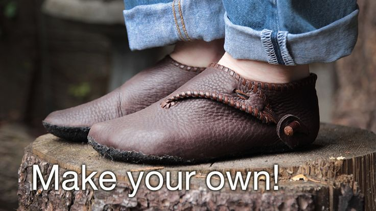 Learn to build your own custom pair of Scandinavian turnshoes, step by step from barefoot to finished shoe, with Laughingcrowe.