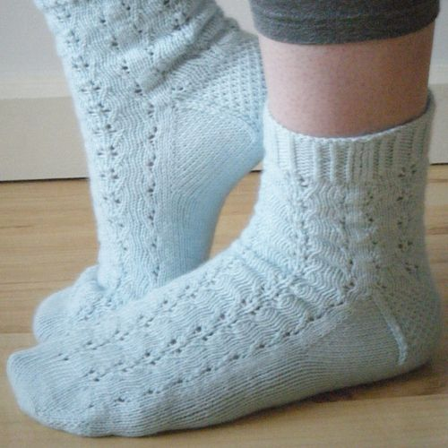Triton Socks by Beads By Laura, via Flickr