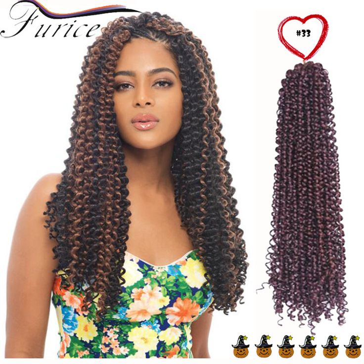 New Premium Deep Wave Synthetic Hair Extension Curly Synthetic Weave Jerry Curl Crochet Water Wave Braids Hair Freetress Twist http://jadeshair.com/new-premium-deep-wave-synthetic-hair-extension-curly-synthetic-weave-jerry-curl-crochet-water-wave-braids-hair-freetress-twist/ #HairExtension