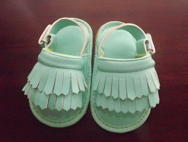 Cudowne sandałki dla dziewczynki 7 - 10 miesięcy