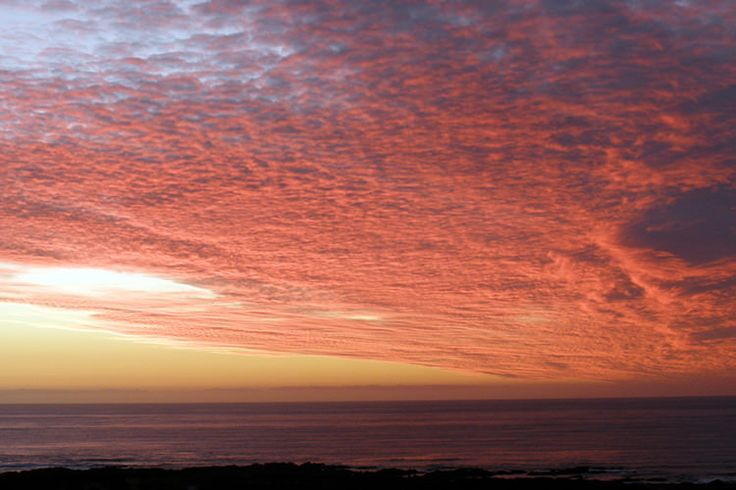 A spectacular sunset on remote King Island in the Bass Strait off northern Tasmania. Image by Mike Dobbie / CC BY 2.0
