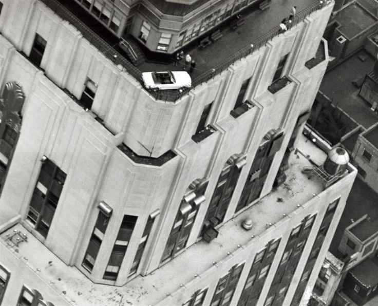 1965 Mustang on Top of the Empire State Building