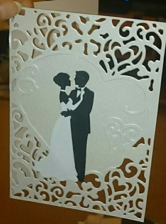Wedding card, using Robert Addams romantic couple and die'sire create a card, love for the background