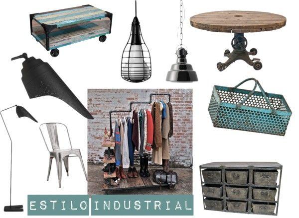 1000 images about objetos estilo industrial on pinterest for Objetos decoracion industrial