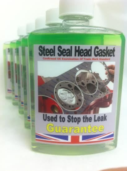 Steel Seal Head Gasket Repair,,,,,,Professional,,,,,Permanent & Guarantee..500ML