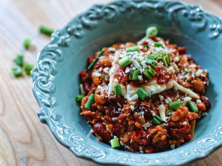 Slow Cooked Turkey Chili