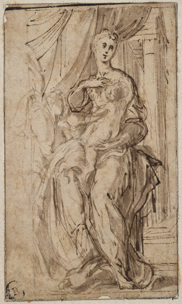 The Madonna of the Long Neck by Parmigianino