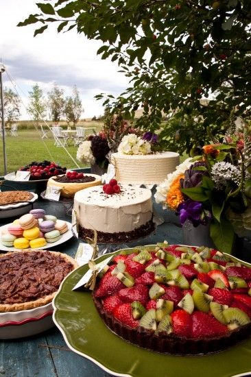 Dessert Table. A Touch of Bliss