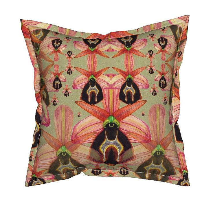 Serama Throw Pillow featuring O. Lesbis by joancaronil | Roostery Home Decor