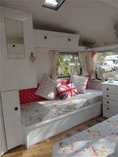 Totally vintage and sweet - would look ridiculous in our van - we might have to get an extra van!