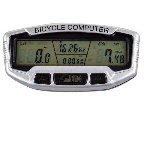 "Sunding 2.8"" LCD Electronic Bike Bicycle Computer Speedometer"