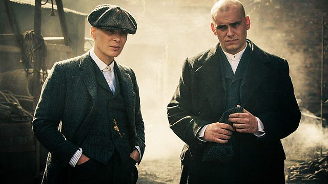 tommy shelby and danny whizz bang.