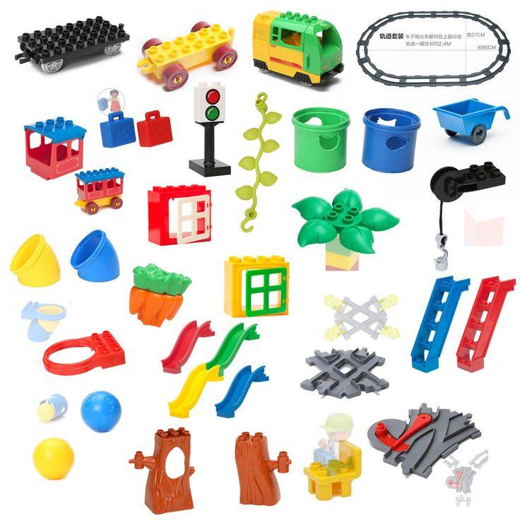 Купить товарБольшие Строительные Блоки Аксессуары Кирпичи Кукла Животных Мост Корзина Презентация Лестница Panda, Совместимые с Lego Duplo Детские Игрушки Подарок в категории Кубикина AliExpress. добро пожаловать в наш магазин!анжела любит ребенка! мы продаем только высокое качество игрушки!принять груз