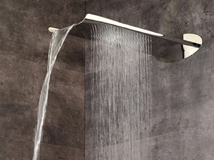 WALL-MOUNTED WATERFALL SHOWER ARIA | OVERHEAD SHOWER | WEBERT