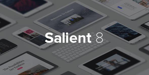 PRODUCT http://themenectar.com/demo/salient-product/ AGENCY http://themenectar.com/demo/salient-agency/