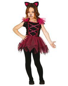 Kostium różowa kotka dla dziewczynki