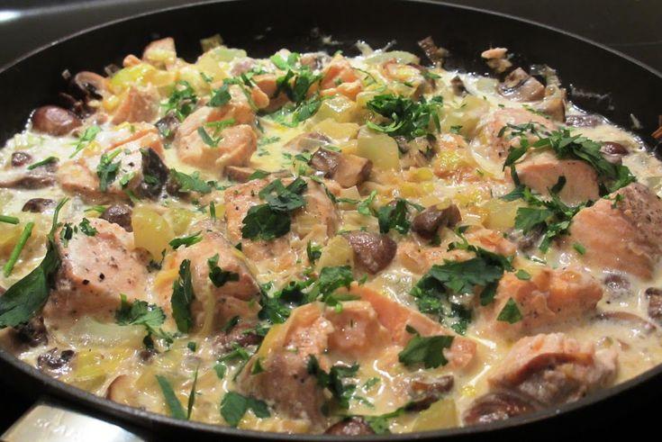 Ik heb een vrij ingewikkeld recept voor een vispotje op mijn manier versimpeld. Het is op deze manier ook op drukke dagen snel gemaakt.