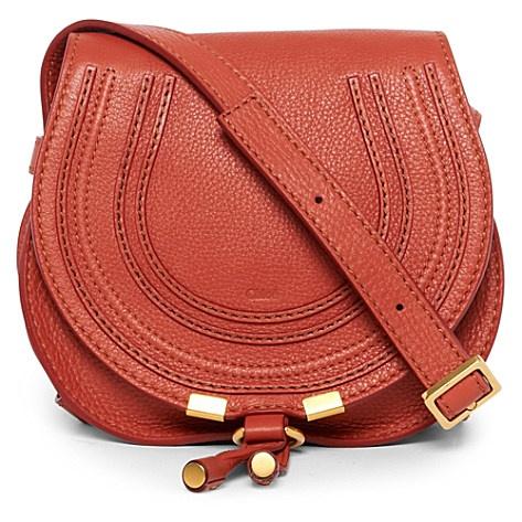 CHLOE Marcie mini saddle bag