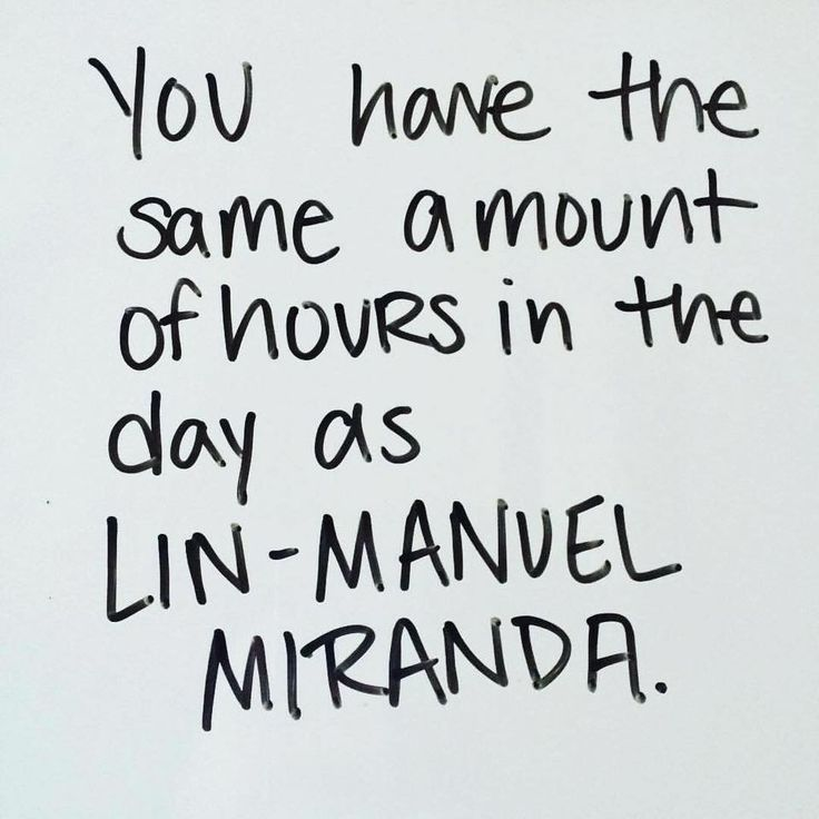 You have the same amount of hours in the day as Lin-Manuel Miranda (960×960)