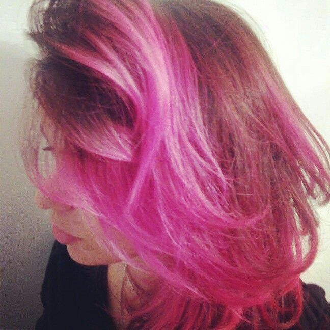 Color,pink ,rosa,hair