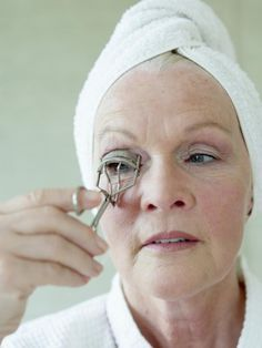 My Best Makeup Tips for Women Over 50: Curl Those Lashes... APPLY MASCARA AFTER LASHES CURLED