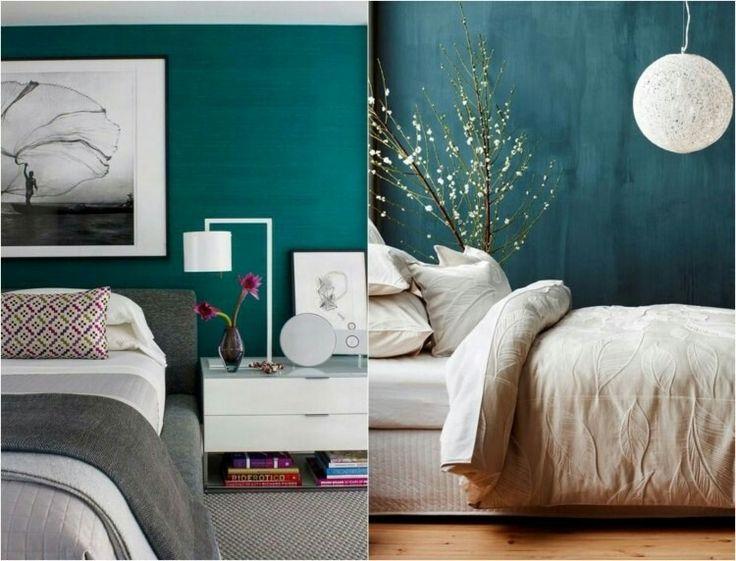 25+ parasta ideaa pinterestissä: schlafzimmer petrol | badezimmer, Schlafzimmer