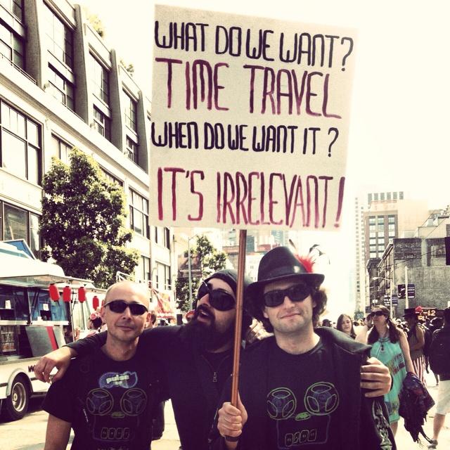 How Weird Street Faire, San Francisco: Friends, Guys