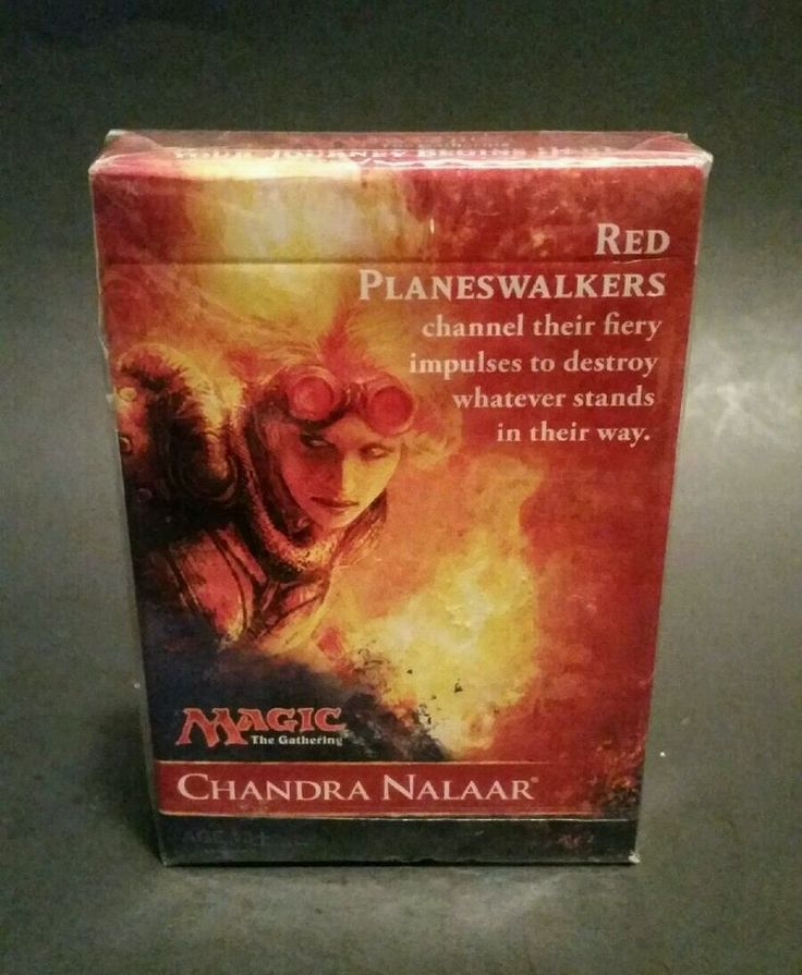 Magic The Gathering Chandra Nalaar 30 Card Deck MTG 2014 New In Sealed Box #HasbroWizardsoftheCoast