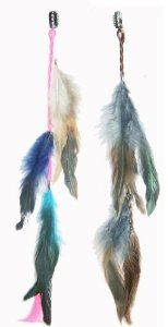2 X Real Natural Feather Hair Extensions Grizzly Hair Extension Clip in on Beauty Salon Supply Wholesale Lot New by opt. $5.99. User Friendly: Make your own hair style.. Length: about 14 (35cm). 2 X Real Natural Dyed Grizzly Feather Hair Extensions Clip In On Beauty Salon Supply Wholesale Lot New. Material: Real Natural Feather. Package Includes: 2 pieces dyed Natural Feathers hair extensions.. Real Natural Feather Hair Extensions Clip In On . Make your own hair ...