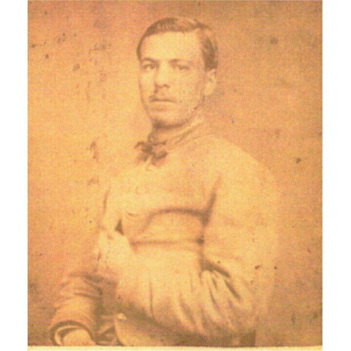 Corp. Holman H. Smith Co. D, 6th Kentucky Infantry cdv taken in Atlanta in 1864 courtesy Tiffany Luchetta