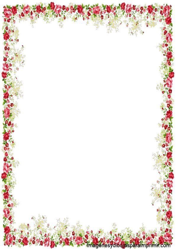 Imagenes de ramas y flores para decorar marcos para Marcos de cuadros blancos