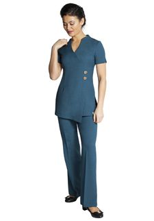 Florence Roby | Beauty Uniforms, Beauty Tunics, Salon Wear, Salon Uniform, Spa Uniforms, Spa Wear