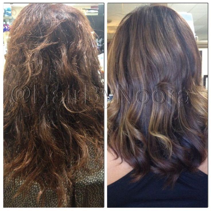 Subtle Hi Lites Balayage Ombr 233 On Brunette Dark Hair