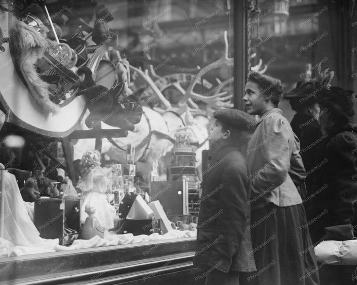 Christmas Toy Store Window Display Classic 8 by 10 Reprint Photograph | eBay