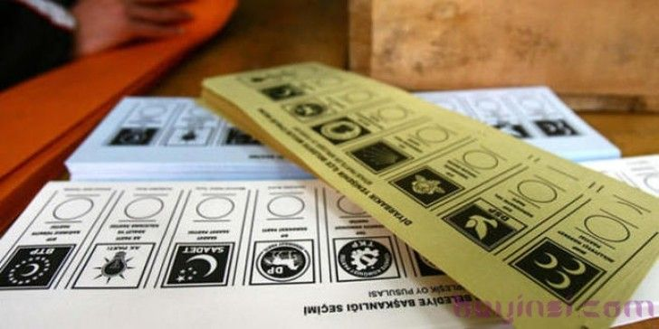 1 Kasım 2015 Seçimleri Oy Pusulası Sıralamaları