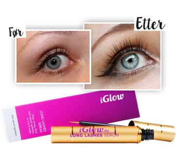 iGlow Long Lashes Serum, vippeserum 3ml middle image 0