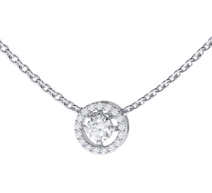 Прелестное ожерелье из белого золота, усыпанное бриллиантами. Яркий блеск драгоценных камней покорит Ваше сердце. Говорят, что бриллианты, отражая солнечный свет, дарят настоящее счастье. Предлагаем Вашему вниманию другие украшения ювелирного бренда Nico Juliany.