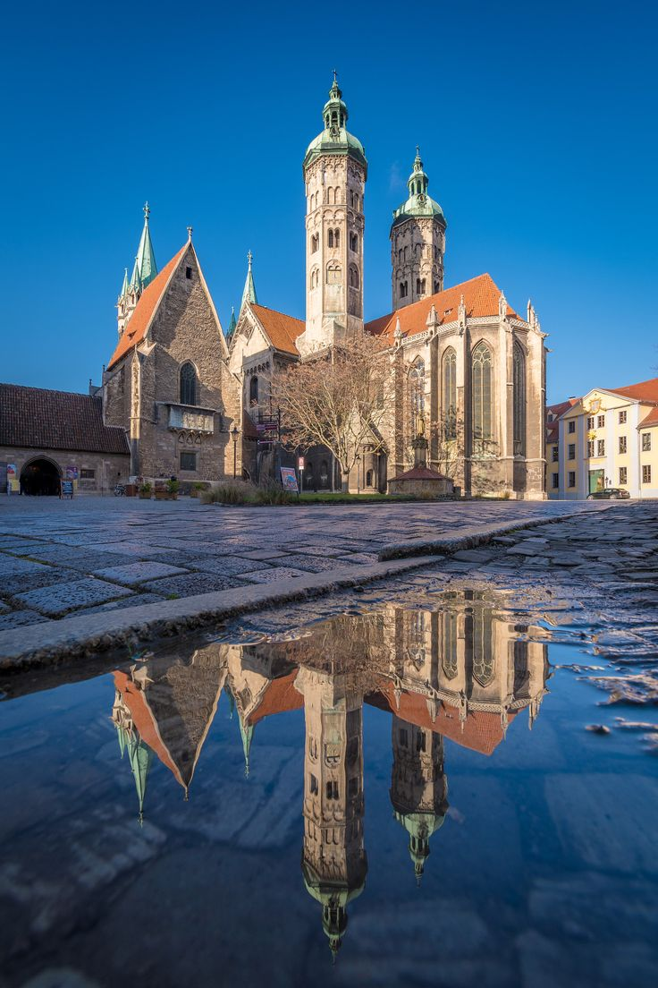 Naumburg Cathedral This image shows the cathedral of