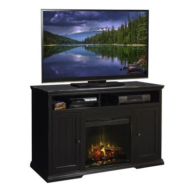 Legends Furniture Waterton TV Stand with Electric Fireplace