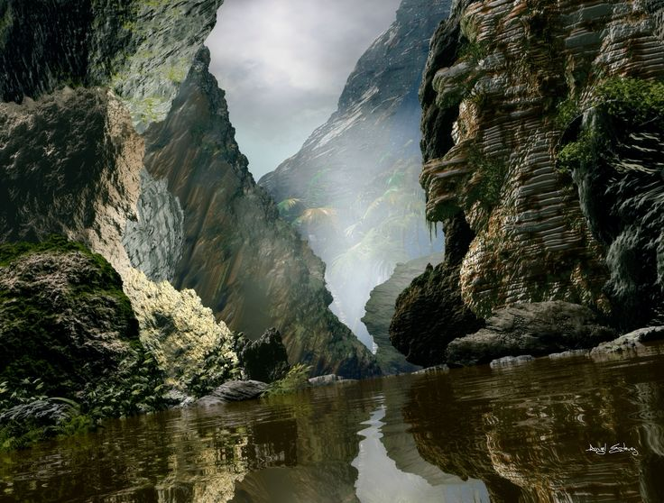 Lost river canyon