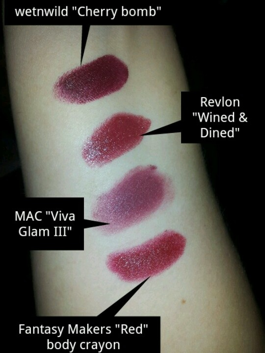 how to wear burgundy lipstick