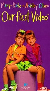 Our First Video Mary Kate & Ashley movie dvd