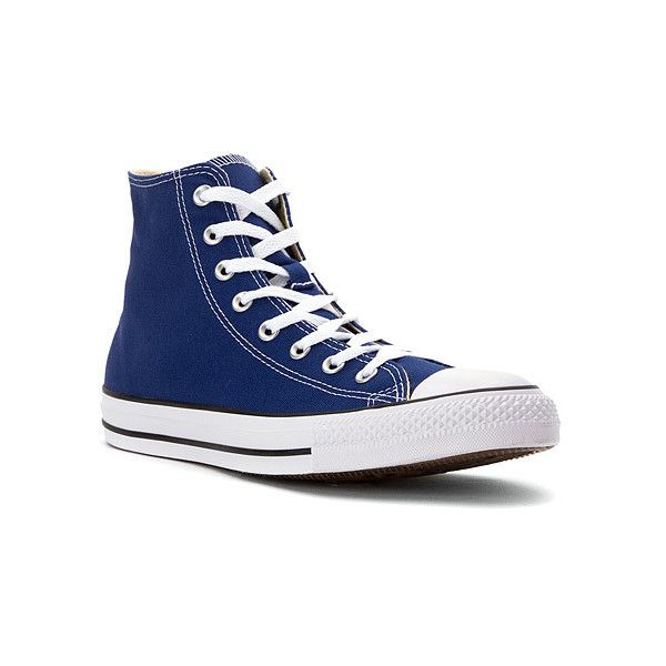 Converse Chuck Taylor All Star High Top ($48) ❤ liked on Polyvore featuring  shoes