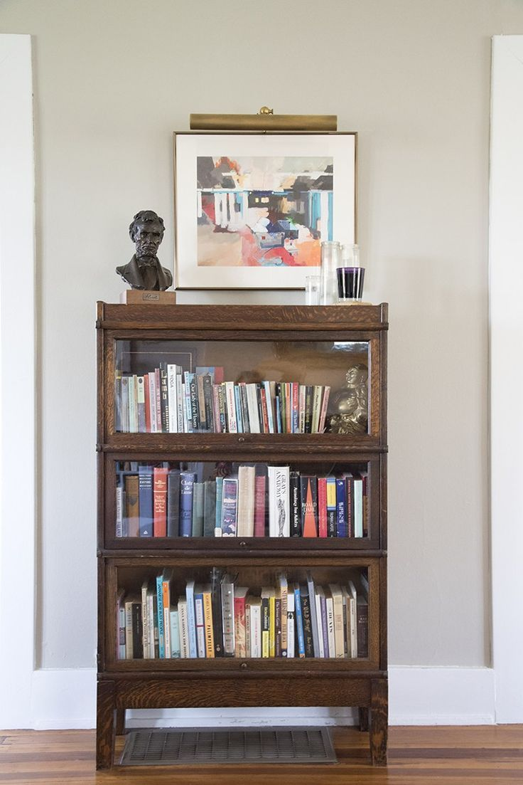 Vintage Bookcase An Eclectic Living Room Bookshelf Styling Eclectic Living Room