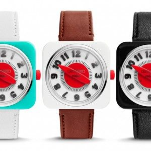 """Eley Kishimoto and Fossil launch watch  with a """"new way of telling time"""""""