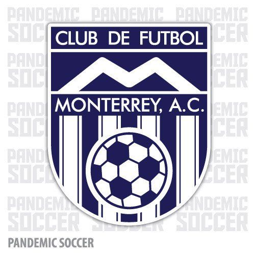 Rayados Monterrey Retro Futbol Vinyl Sticker Decal Calcomania
