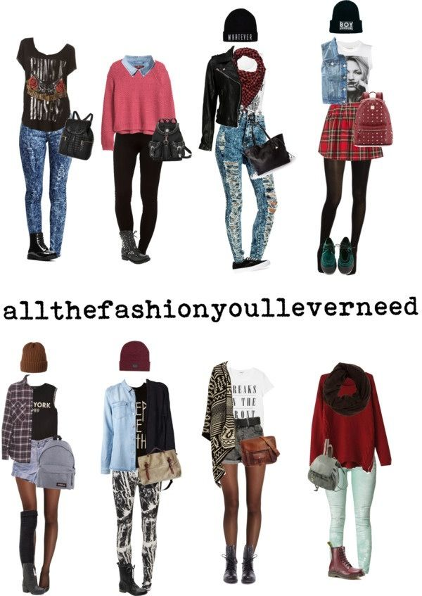 Tumblr clothes for school swag