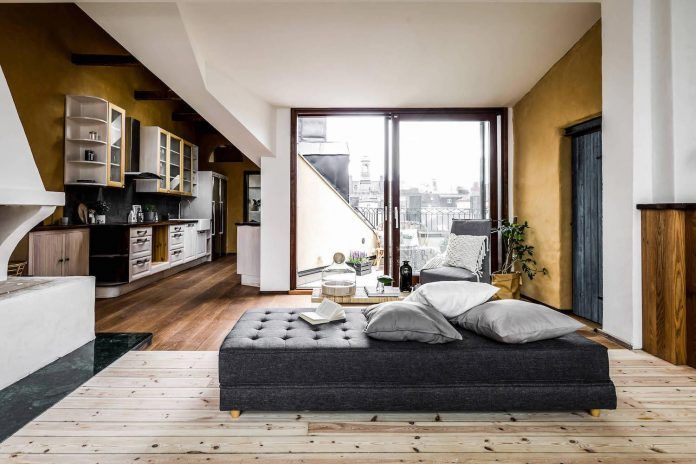 Riddargatan stylish Scandinavian apartment designed by Henrik Nero - CAANdesign | Architecture and home design blog