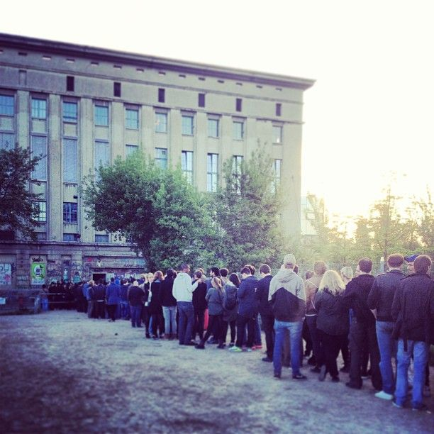 Berghain / Panorama Bar w Berlin, Berlin