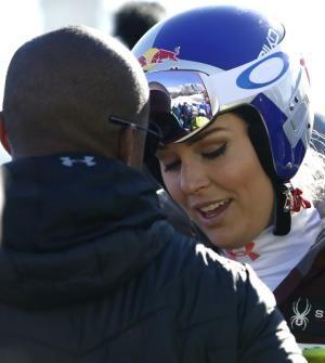 Lindsey Vonn's boyfriend, an NFL coach, understands her pain